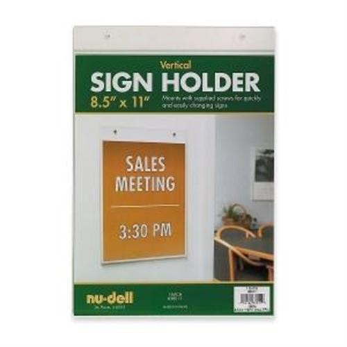 Nu-Dell Sign Holder 38011