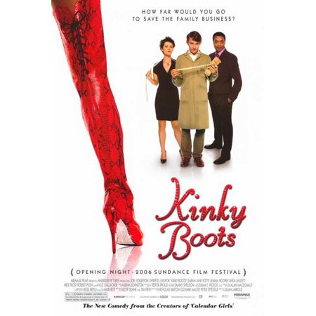 Kinky Boots POSTER Movie Mini Promo