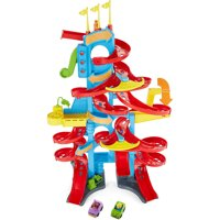 Fisher-Price Little People Take Turns Skyway 3 Foot Tall Kid's Racer Toy Playset