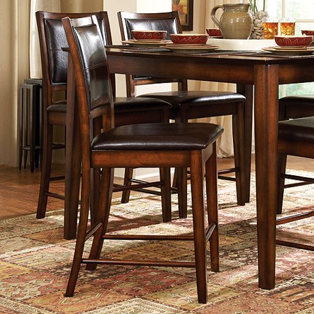 Madison counter height stools 24 set of 2 rustic oak - Rustic bar stools cheap ...