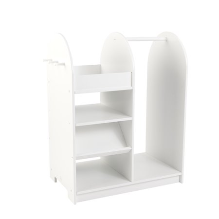 Kidkraft Lets Play Dress Up Unit  White