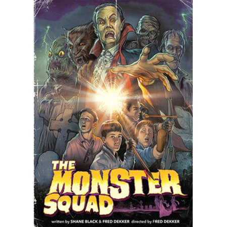 The Halloween Monster Movie Challenge (The Monster Squad (DVD))