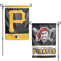 """Pittsburgh Pirates WinCraft 12"""" x 18"""" Double-Sided Garden Flag"""