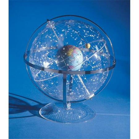 Hubbard Scientific 300 Celestial Star Globe  Transparent - image 1 de 1