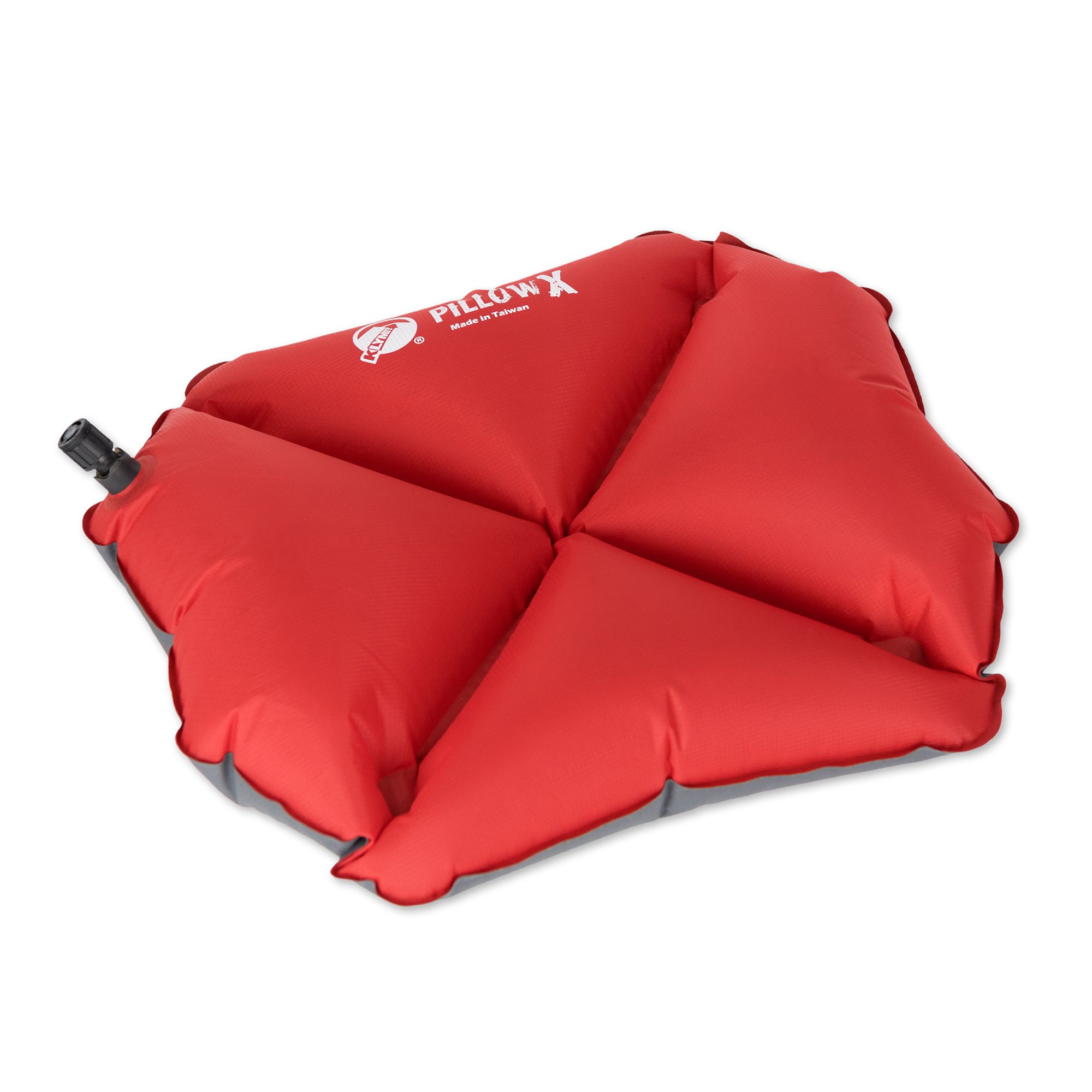 Klymit Pillow X Soft Ultralight Inflatable Travel Camping Pillow, Red (10 Pack) - image 3 de 6