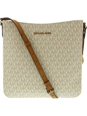 d88229bdf309c9 Product Image Michael Kors Jet Set Travel Large Messenger Bag - Vanilla /  Acorn