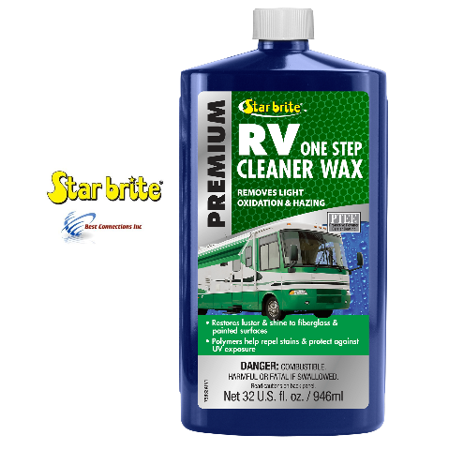 Star brite 32 oz Premium RV One Step Cleaner Wax