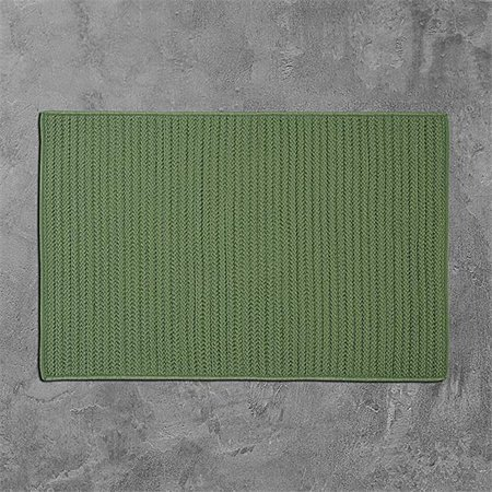 Colonial Mills H123R096X120S 8 x 10 ft. Simply Home Solid Indoor & Outdoor Rug, Moss Green - image 1 of 1
