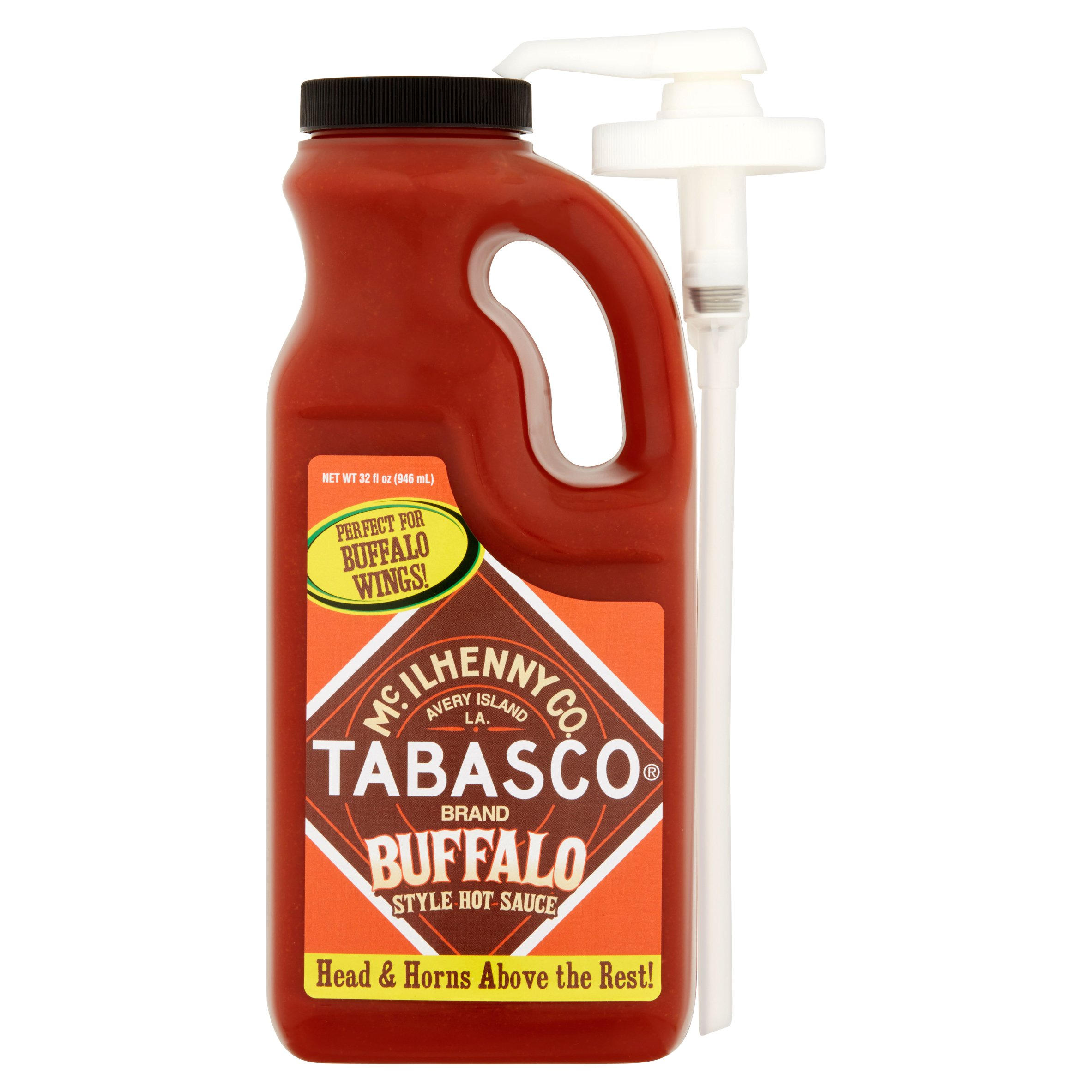 McIlhenny Co. TABASCO Brand Buffalo Style Hot Sauce, 32 fl oz by McIlhenny Company