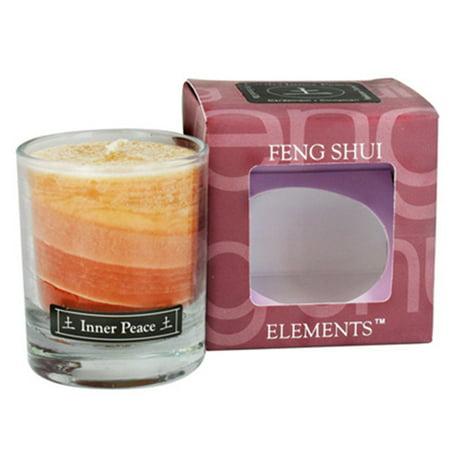 Aloha Bay Feng Shui Palm Wax Fire Passion Candle Jar- 2.5 Oz