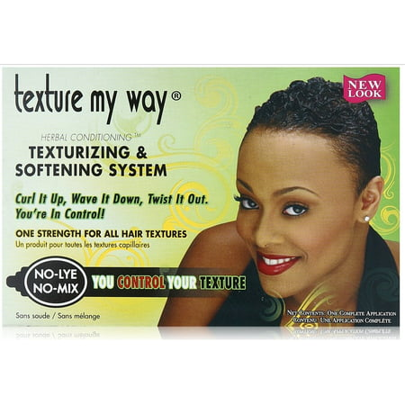 2 Pack - Africa's Best Texture My Way No-Lye Organic Conditioning Texturizing System 1 (Best Realistic Texture Pack)