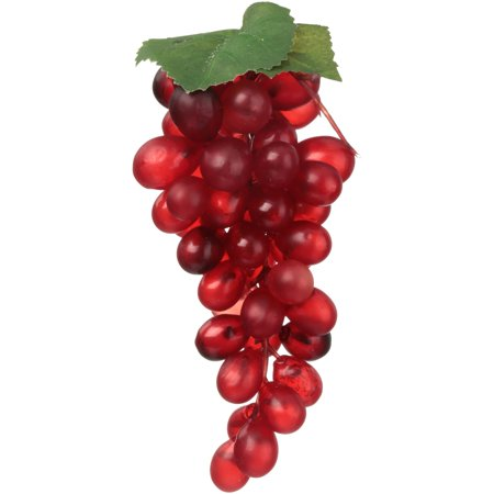 African Cabernet (Akasha Faux Fruit Cabernet Grape Bunch, 1)