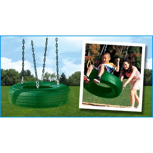 Creative Playthings Single Axis Tire Swing