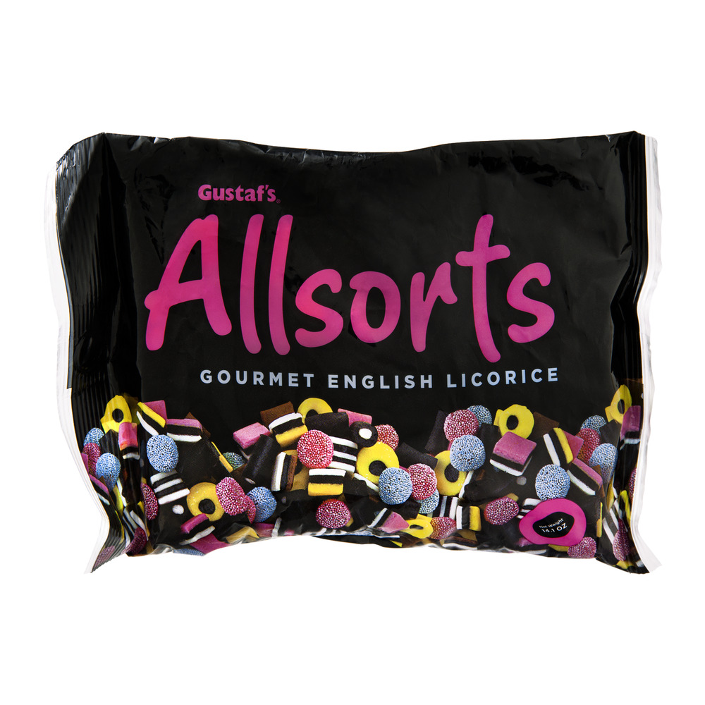 Allsorts Gourmet English Licorice, 14.1 oz