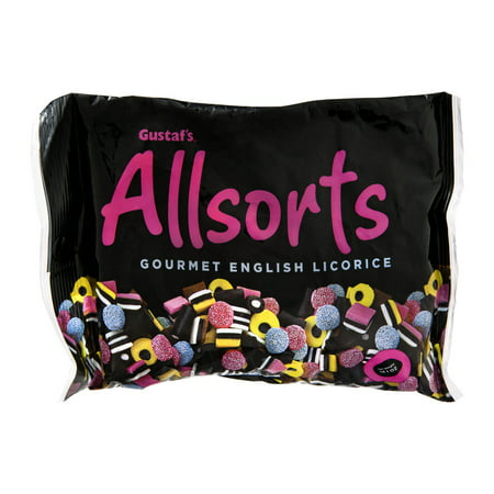 Allsorts Gourmet English Licorice, 14.1 oz