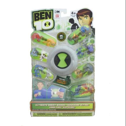 Ben 10 Chest Badge Ultimatrix Multi-Colored