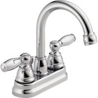 Peerless Apex Centerset Two Handle Bathroom Faucet in Chrome P299685LF-ECO-W