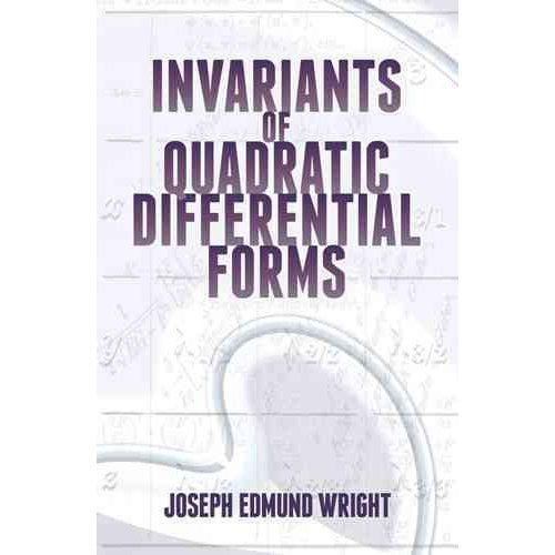 Dover Books on Mathematics: Invariants of Quadratic Differential Forms (Paperback)
