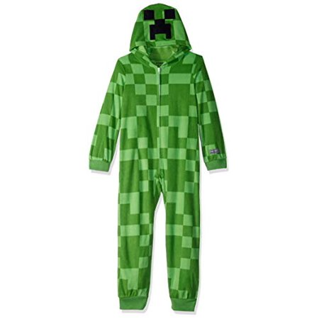 dc09c2b81 Minecraft - Minecraft Boys  Little Creeper Hooded Blanket Sleeper ...