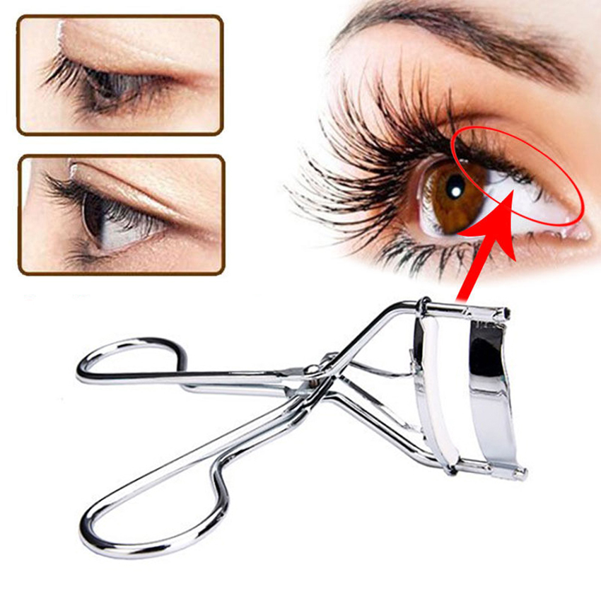 Eyelash Curler Clip silicone strip Eye Curling Cosmetic Makeup Beauty Tools MZ