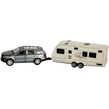 Prime Products 27 0026 Mini Suv Trailer Hitch And Rv Camper Toy Model