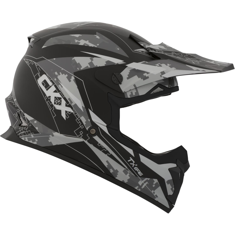 CKX Glitch TX696 Off-Road Helmet No Shield