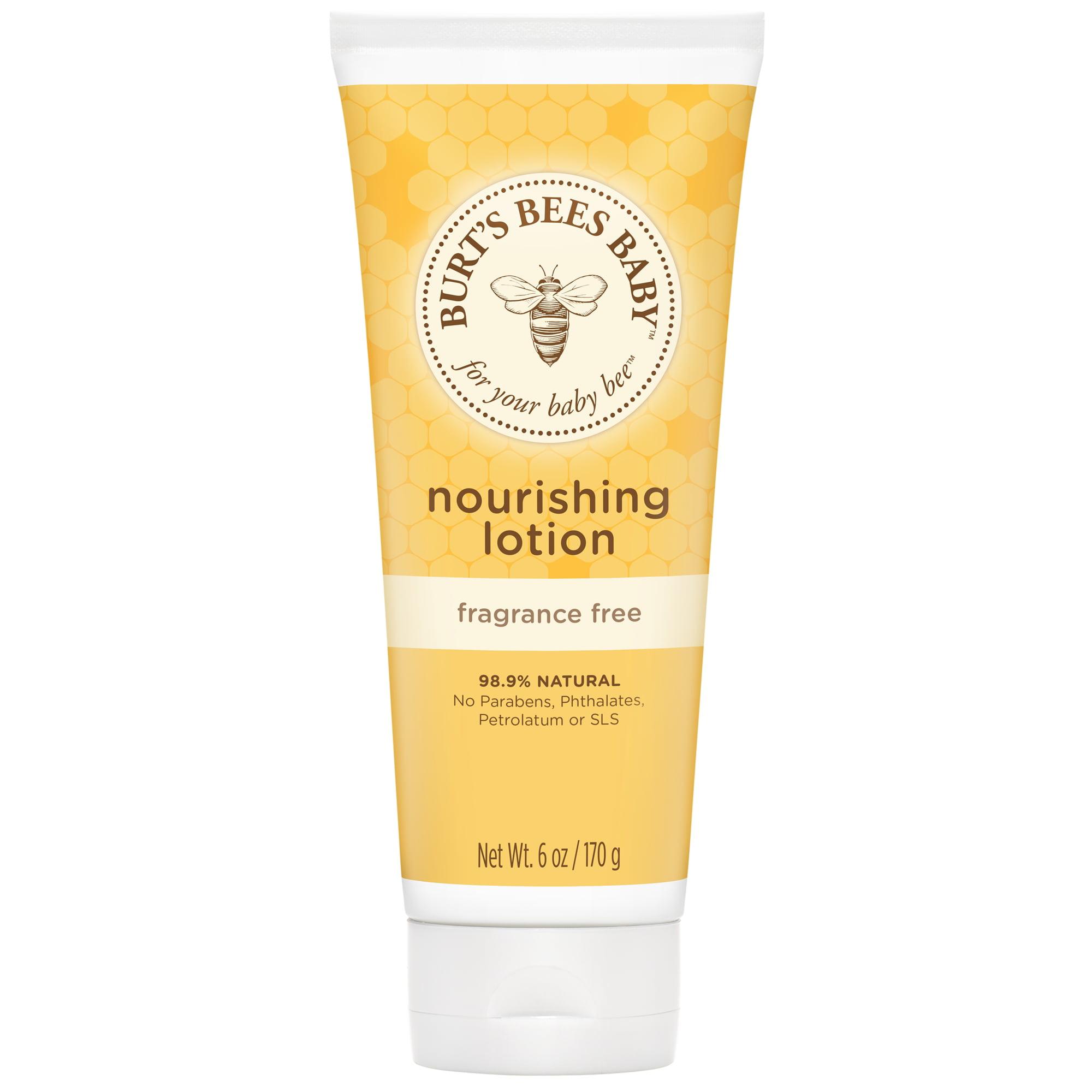 Burt's Bees Baby Nourishing Lotion, Fragrance Free Baby Lotion - 6 oz Tube
