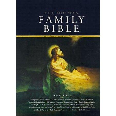 Holman KJV Family Bible, Deluxe Edition, White Bonded Leather