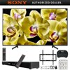 """Sony XBR-75X800G 75-inch 4K Ultra HD LED Smart TV (2019) Bundle with Deco Gear 31-inch Sound Bar, Deco Mount Flat Wall Mount Kit, Deco Gear Wireless Keyboard, 6-Outlet Surge Adapter with Night Light E30SNXBR75X800G XBR-75X800G 75"""" 4K Ultra HD LED TVVoice Remote Control (RMF-TX310U)Batteries (LR03)AC Power Cord Spec (Pig-tail (43mm), US, 2pin, flat blades,Polarity)IR Blaster (1-849-161-12)Operating Instructions (English, French)Quick Setup Guide / Supplement CUE (GA)Table Top Stand (Separate/assembly required)Bundle Includes:Sony XBR-75X800G 75-inch 4K Ultra HD LED Smart TV (2019 Model)Deco Mount Flat Wall Mount Kit Ultimate Bundle for 45-90 inch TVsDeco Gear Home Theater Surround Sound 31-inch Soundbar 2.1 CH Audio Wireless Bluetooth NFCDeco Gear 2.4GHz Wireless Backlit Keyboard Smart Remote with Touchpad MouseSurgePro 6 NT 750 Joule 6-Outlet Surge Adapter with Night Light6ft Optical Toslink 5.0mm OD Audio Cable75 class (74.5"""" diag.) 4K HDR Ultra HD TVEnjoy crisp, realistic details in your favorite entertainment with the X800G 4K HDR TV. Control your TV and smart home with your voice using Android TV and Assistant built in. 4K X-Reality PRO technology and Dynamic Contrast Enhancer technologies refine details and display contrast with stunning accuracy, making shows and movies come alive.Key Features:4K HDR, HDR10 and HLG for advanced detail and clarityUpscale to a more natural picture with 4K X-Reality PROContent appears with lifelike motion with Motionflow XR technologyScenes appear more realistic with Dynamic Contrast EnhancerAndroid TV with Assistant built in gives you a genius TVCompatible with Home4 and for an even smarter homeSlice of living design with built-in cable managementDownload your favorite content, shopping, and gaming Apps from PlayLive TV Streaming, no annual contract with PlayStation VueProduct Features:Uncover the Detail With 4K HDR: High Dynamic Range (HDR) will change the way you look at TV. Combined with 4K Ultra HD resolution, HDR video cont"""