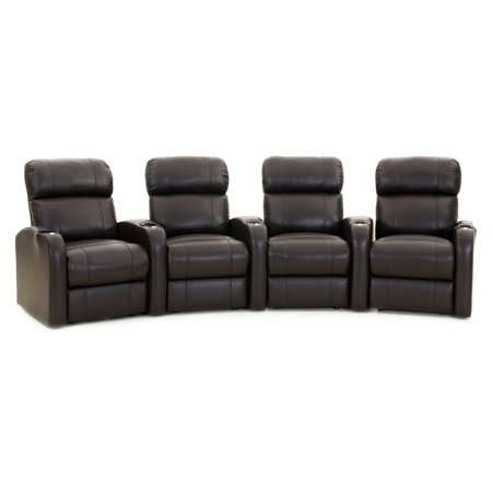 Octane Diesel XS950 4 Seater Curved Home Theater Seating Diesel Series Industrial Seating