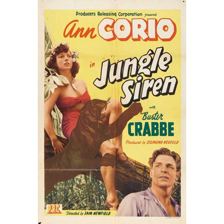 Jungle Siren - movie POSTER (Style A) (11