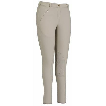 Ladies Cotton Breeches (Ladies Light Cotton Lowrise Knee Patch Regular)