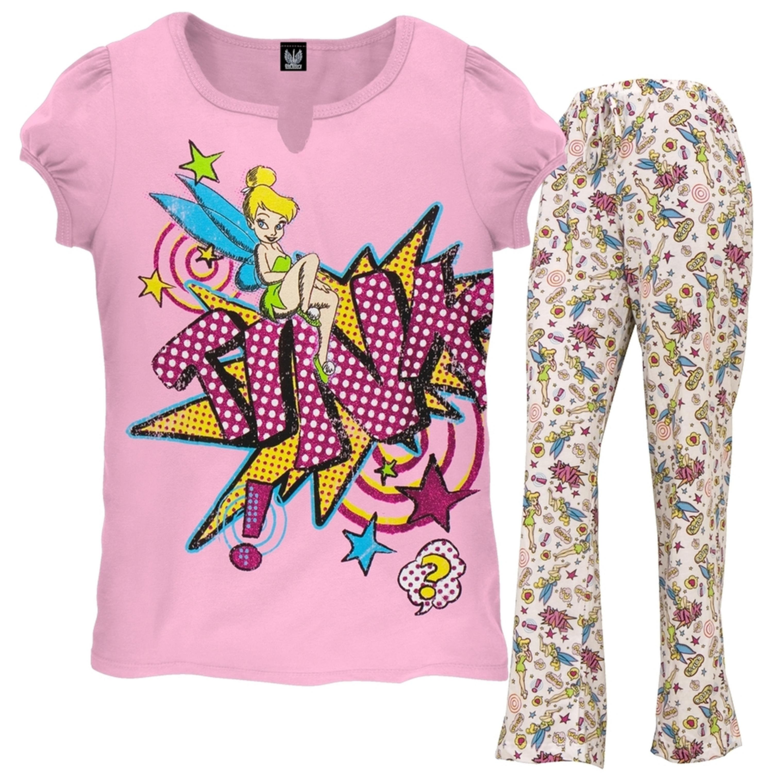 Tinkerbell - Tink Power Girls Youth Pajama Set