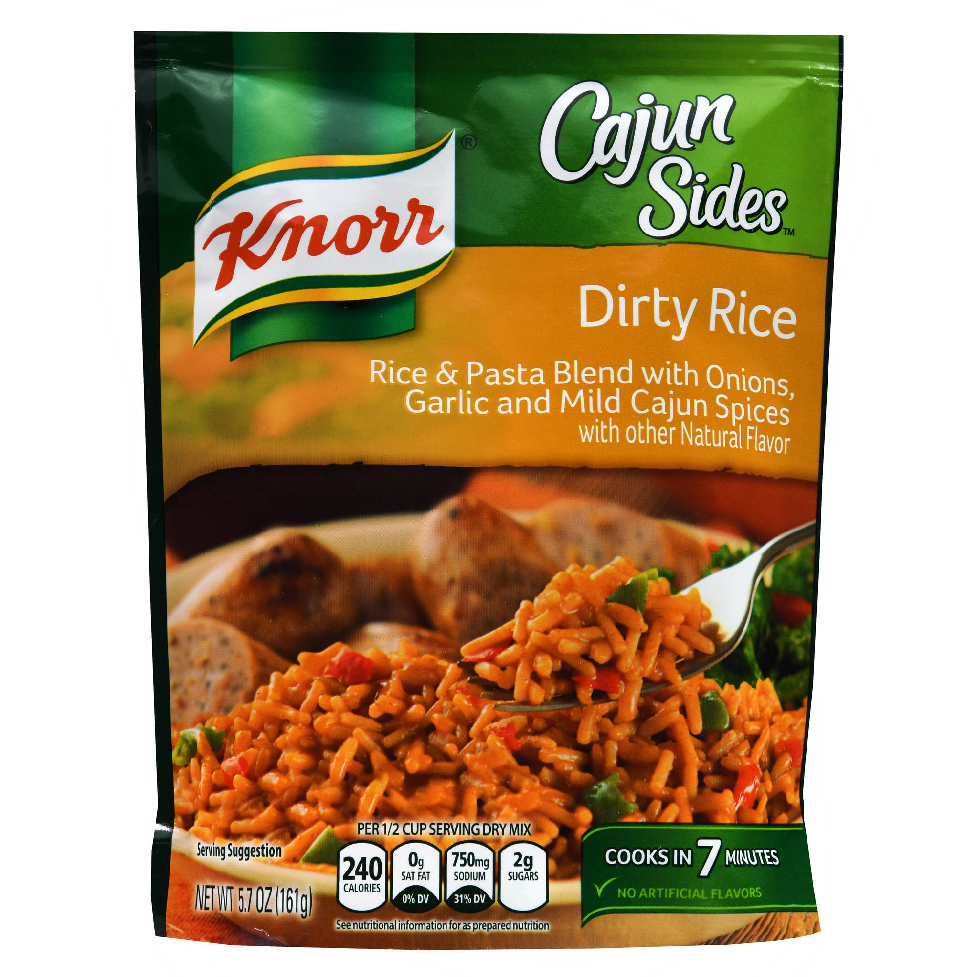 Knorr Cajun Sides Rice Side Dish Dirty Rice, 5.7 oz