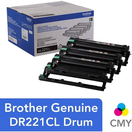 Brother Genuine Drum Unit, DR221CL, Yields Up to 15,000 Pages
