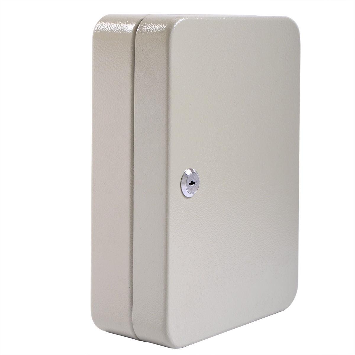 40 Steel Safe Hook Key Box w//Tag Digital Lock Storage Case Cabinet Wall Mount