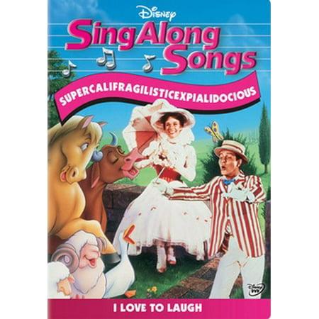 Sing Along Songs: Supercalifragilisticexpialidocious (DVD)