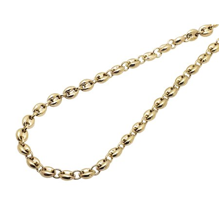 solid necklace yellow s rope i chain twist men tradesy