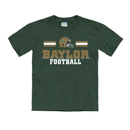 Baylor Bear Green (Baylor Bears Youth Ruckus Football T-Shirt - Green )
