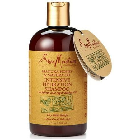 Shea Moisture Manuka Honey & Mafura Oil Intensive Hydration Shampoo 13 oz (Pack of