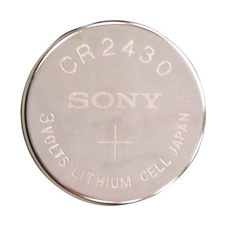 Sony Coin Cell Battery CR2430 3V Lithium Replaces DL2430, BR2430  FAST USA