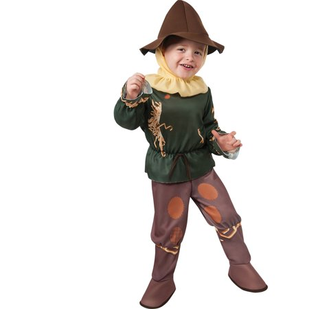 Morris Costumes Infants Scarecrow Toddler Complete Outfit 2-3T, Style RU886483T