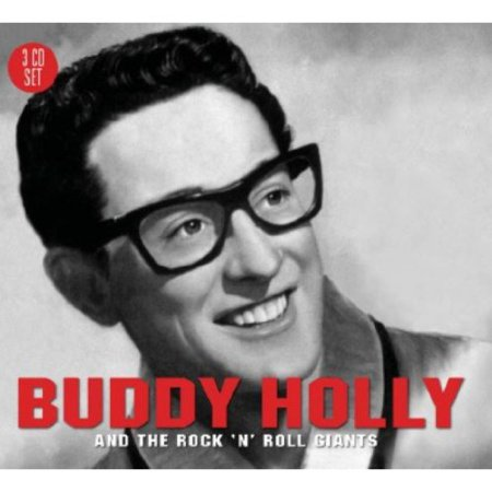 Buddy Holly   Buddy Holly   The Rock N Roll Giants  Cd