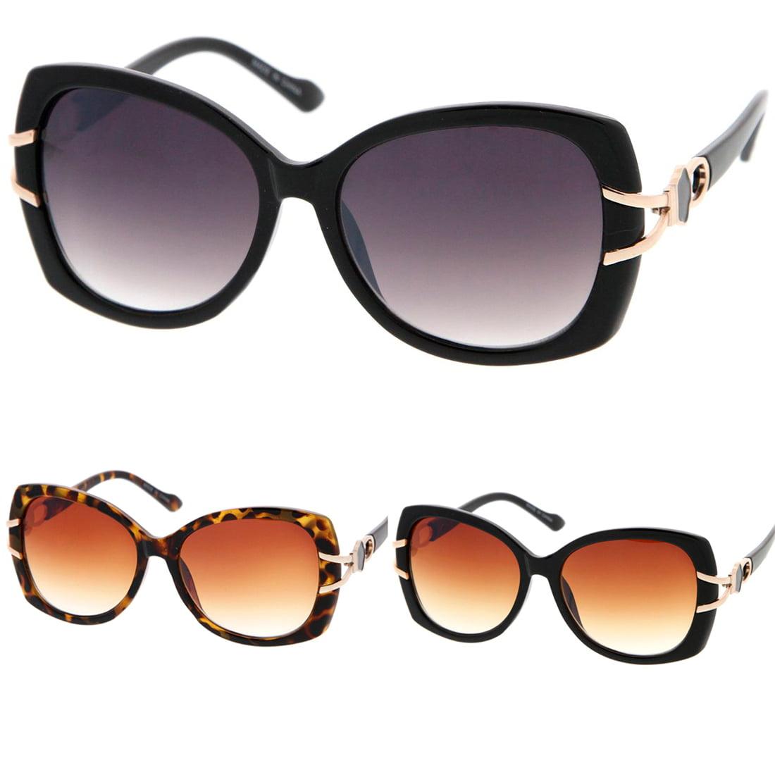 MLC Eyewear Vintage Fashion Oversize Butterfly Frame Women Sunglasses Model 56