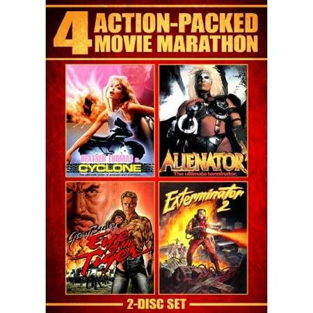 Action Packed Movie Marathon: Cyclone / Alienator / Eye Of The Tiger / Exterminator 2 (Widescreen) - Halloween Movie Marathon 2017