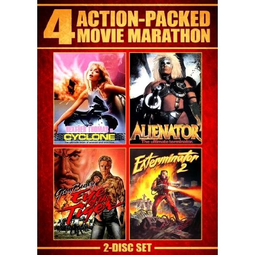 Action Packed Movie Marathon: Cyclone / Alienator / Eye Of The Tiger / Exterminator 2 (Widescreen)