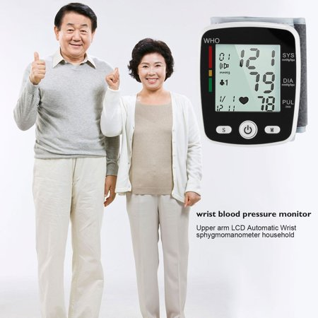 Outad Upper Arm Lcd Display Automatic Wrist Blood Pressure Monitor Household Use Withe - image 10 of 13