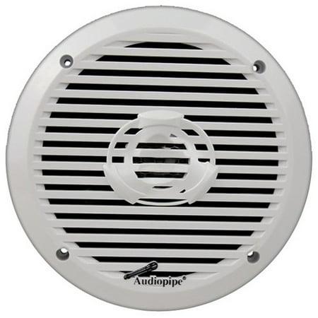 Audiopipe Apsw6032 6 5  2 Way Marine Speaker 200W Max White