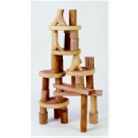 Tree Blocks Barkless Manipulative Set