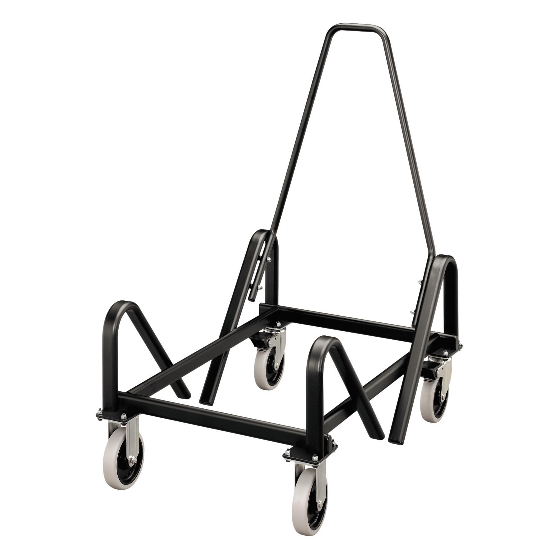 HON Olson Stacker Series Cart, 21-3/8 x 35-1/2 x 37, Black